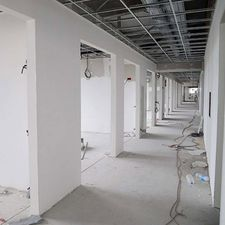 view of an under construction commercial premises