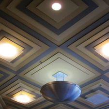 view of a ceiling